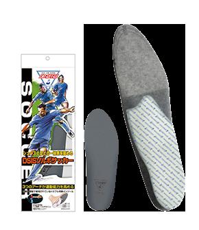 令球鞋和腳部融為一體
